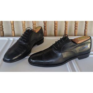 Salvatore Ferragamo Oxford Plain Captoe Perforated